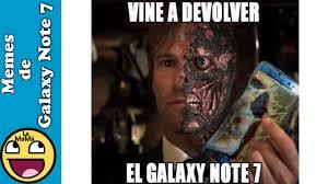 Galaxy Note Meme - memes del samsung galaxy note 7 la mam磧 meme youtube