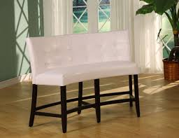 counter height bench seat bench decoration