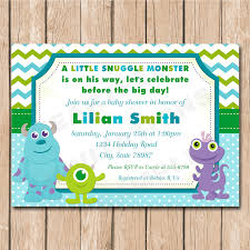 monsters inc baby shower ideas lovely rubber duck baby shower invitations