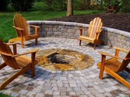 Patio Table With Built In Fire Pit - fire pit pavers fire pit acadia landscape co knoxville tn my