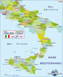 Foggia Italy Map by Map Of Southern Italy Politcal Italy Map In The Atlas Of The