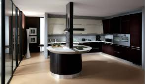 captivating round kitchen island ideas with adorable black kitchen