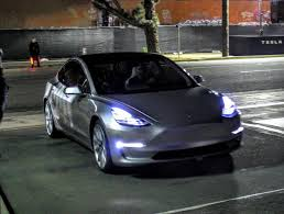 the tesla model 3 demonstration drive and the expectations it has