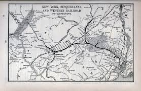 Utica New York Map by The New York Susquehanna And Western Railway
