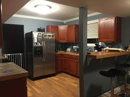 best color to paint kitchen with cherry cabinets kitchen wall paint ideas with cherry cabinets