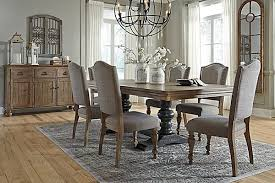 ashley dining room furniture set appealing endearing chairs for dining room tables the tanshire on