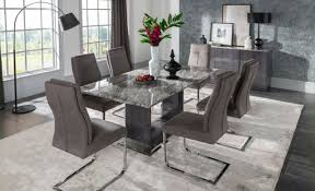 white and gray dining table dining tables and chairs fixed tables extending tables kitchen