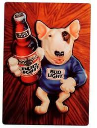 bud light tin signs spud mckenzie bud light metal sign budweiser beer bull terrier