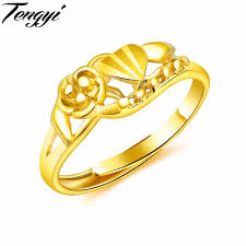 cheap gold rings images Tengyi resizable adjustable cheap color gold ring for women luxury jpg