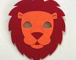lion mask lion mask etsy