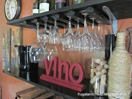 diy wine glass holder hometalk