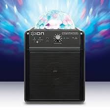 ion bluetooth speaker with lights ion party power ipa19c bluetooth speaker system w lights ipa19c