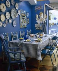 amazing blue curtains decorating ideas images in dining room