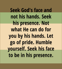 How To Seeking Seek God S And Not His Don T Wait Until Trouble Comes