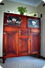 leadlight kitchen cabinets i want this kitchenette antique kitchen cabinets antique