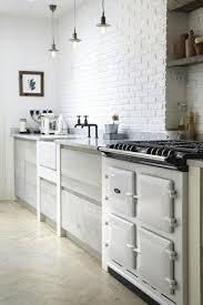 briques cuisine cuisine brique peinte blanc brico wright design
