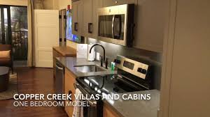 One Bedroom by Copper Creek One Bedroom Model Walk Through Youtube