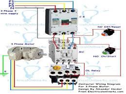 contactor wiring diagram single phase reversing contactor diagram