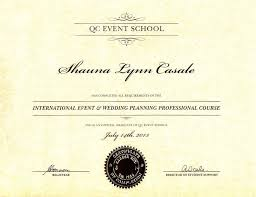 wedding and event planning certification strikingly design diploma in wedding and event planning