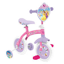 disney princess disney princess 2 in 1 10inch training bike kiddicare com