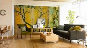 creative wall painting ideas for living room wall paint design