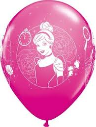 balloons delivered to your door 22 cinderella royal debut helium balloon inflated and