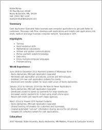 sample resume for applying job sample resume application sample