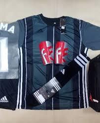 Baju Adidas Juventus setelan kaos futsal bola adidas ad14 motif juventus abu rumah jersey