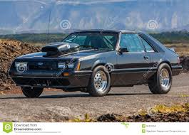 Black Mustang Lx Ford Mustang Lx Editorial Stock Image Image 36494059