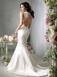 backless lace wedding dresses 15 beautiful backless wedding dresses gowns you need to see