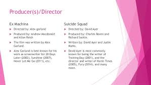 film industry case study ex machina and squad