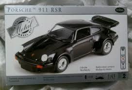 porsche 911 model kit testors porsche 911 rsr 1 43 diecast model kit what s it
