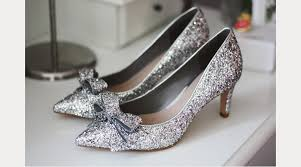 wedding shoes glitter the touch of sparkle for your winter wedding mon cheri