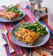 cuisiner haricots rouges omelette façon tortillas aux maïs tomate et haricot les