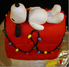 brown christmas snoopy dog house snoopy s christmas dog house cake brown christmas cake