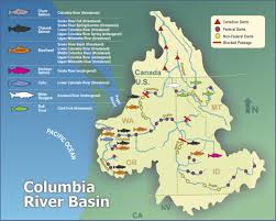 Map Of Columbia Clear Waters Restoring Fish Culture And Land In Central Oregon