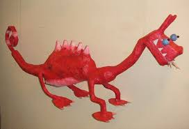 paper dragons paper mache dragons from recycled materials creative