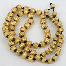 bead necklace gold images Indian gold lac bead necklace jpg
