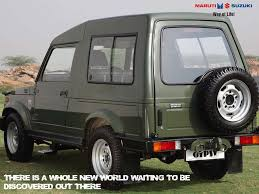 indian army jeep modified maruti gypsy features specs review picture gallery mileage