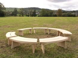 Semi Circle Patio Table by Circular Outdoor Bench Fucvm Cnxconsortium Org Outdoor Furniture