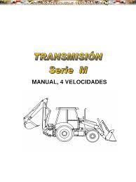 manual sistema transmision retroexcavadoras serie m case copia pdf