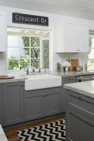 Shaker Doors For Kitchen Cabinets by Our Kitchen Renovation Details Herringbone Backsplash Gray