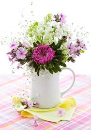 Springtime Flower Arrangements - springtime finds decor items to brighten up your home