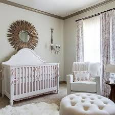Venetian Crib Bratt Decor Light Pink Bedding And Blush With Gold Dust Ruffle Bella Notte To
