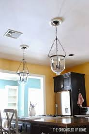 Changing Recessed Lighting To Pendant Lighting Tutorial How To Convert Recessed Lights To Pendants The Pertaining