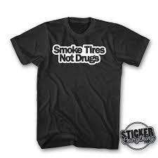 hoonigan racing logo smoke tires not drugs t shirt graphic tee hoon hoonigan drift awd