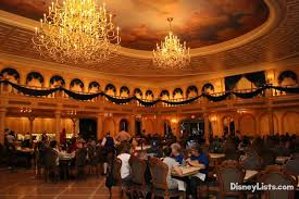 Be Our Guest Dining Rooms Top 20 Romantic Restaurants At Walt Disney World U2013 Disneylists Com