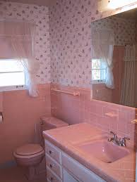 Pink Tile Bathroom by Bathroom Wallpaper Hd