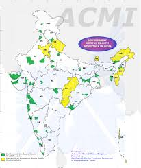 India Map Of States by Mental Health Policy Group