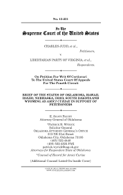 charles judd et al petitioners v libertarian party of